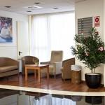 Sala espera residencia de ancianos Lepant Residencial
